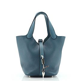 Hermes Picotin Lock Bag Clemence with Swift PM