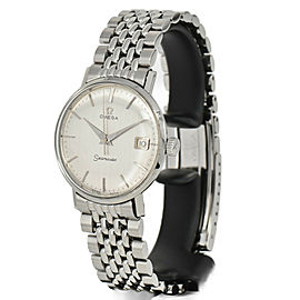 OMEGA Seamaster Silver Dial Stainless steel Automatic Men's Watch
