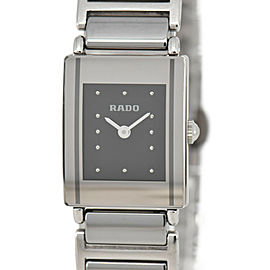 RADO Diastar 153.0488.3 black Dial Ceramic/titanium Quartz Ladies Watch