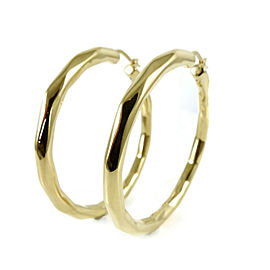 Roberto Coin 18K Yellow Gold 59mm Oro Classic Hoop Earrings