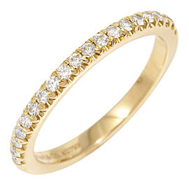 Tiffany & Co. 18K Rose Gold, Diamond Half Eternity Ring CHAT-212