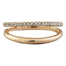 0.25 Carat 14K Rose Gold Diamond Ring