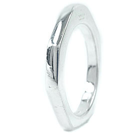 GUCCI Silver Octagon Ring