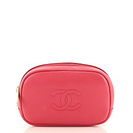 Chanel Timeless Round Pouch Calfskin Small
