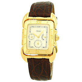 "Tabbah ""Saga"" 18K Yellow Gold Strap Watch"