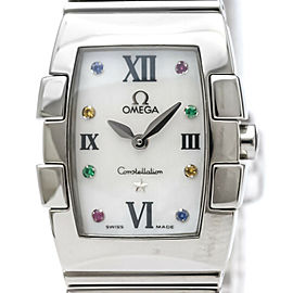 OMEGA Constellation Quadrella MOP Dial Ladies Watch 1584.79