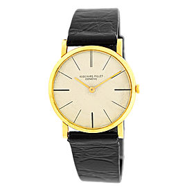 "Audemars Piguet ""Classigue"" 18K Yellow Gold Vintage Mens Strap Watch"