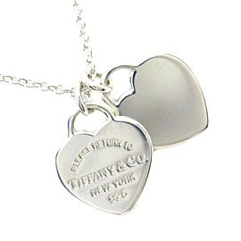 TIFFANY & Co silver925 Return to TIFFANY & Co Necklace NST-43
