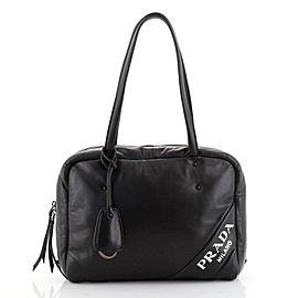 Prada Padded Bowler Bag Nappa Leather Medium
