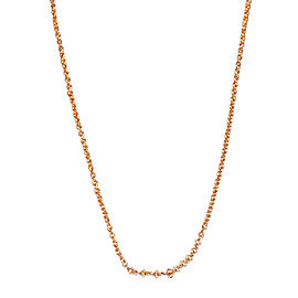 Tiffany & Co. Paloma Picasso 18K Rose Gold Chain Necklace