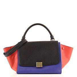 Celine Tricolor Trapeze Bag Leather Small