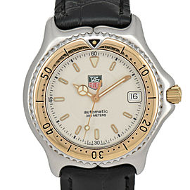 TAG HEUER S/el Wl2150 200M K18 Bezel Date Automatic Men's Watch