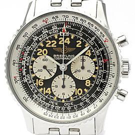 BREITLING Navitimer Cosmonaute Steel Hand-winding Watch A12019