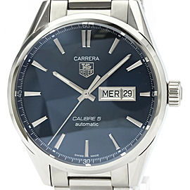 TAG HEUER Carrera Calibre 5 Day Date Automatic Watch WAR201E