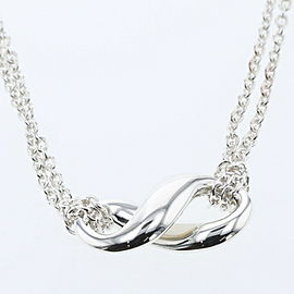 TIFFANY & Co Silver925 Infinity Necklace TBRK-514