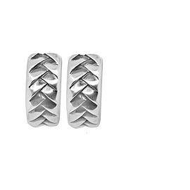 Scott Kay Silver Hoop Earrings