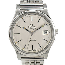 OMEGA Geneva 166.0168 Silver Dial Cal.1012 Automatic Men's Watch