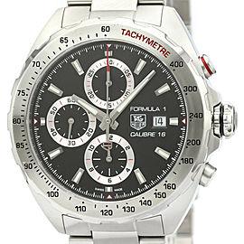 Polished TAG HEUER Formula 1 Calibre 16 Chronograph Mens Watch CAZ2010