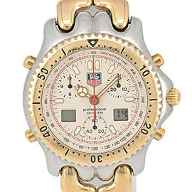 TAG HEUER Professional cell CG1123-0 Ivory Dial GP/SS Quartz Men's Watch