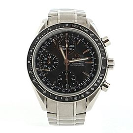 Omega Speedmaster Day-Date Chronograph Automatic Watch Stainless Steel 40
