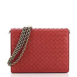 Bottega Veneta Flap Wallet on Chain Intrecciato Nappa Small