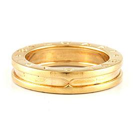 BVLGARI 18K yellow Gold B-zero1 Ring CHAT-475