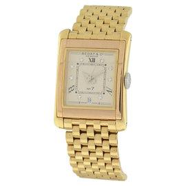 Bedat & Co. No. 7 18K Rose & Yellow Gold & Diamond 26mm x 36mm Watch