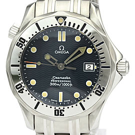 Polished OMEGA Seamaster Professional 300M Steel Mid Size Watch 2562.80