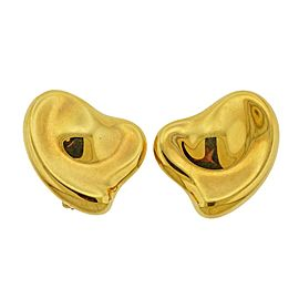 Tiffany & Co., Elsa Peretti Design Heart Clip-On EarringsTiffany & Co., Elsa Peretti Design Heart Clip-On Earrings