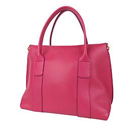 Gancini Sookie Leather Satchel