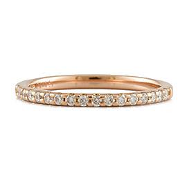 Ponte Vecchio 18K Pink Gold Diamond Half eternity Ring CHAT-737