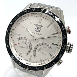 TAG HEUER CV7A13 Carrera Stainless Steel Chronograph Caliber S Wrist watch