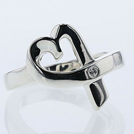 TIFFANY & Co. 925 Paloma-Picasso Loving Heart Ring TBRK-568