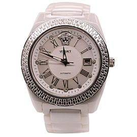 Versace Women's One Ceramic Diamonds Watch