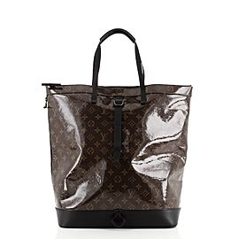 Louis Vuitton Zipped Tote Limited Edition Monogram Glaze Canvas