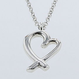 TIFFANY & Co. Silver Loving heart Necklace