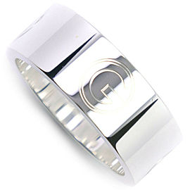 GUCCI Silver G Ring