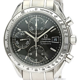 OMEGA Stainless steel Speedmaster Date Watch