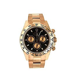 Rolex Oyster Perpetual Daytona 116505 40mm Mens Watch