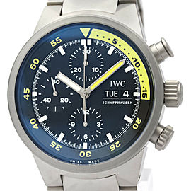 Polished IWC Titanium Aqua Timer Chronograph Watch HK-2120