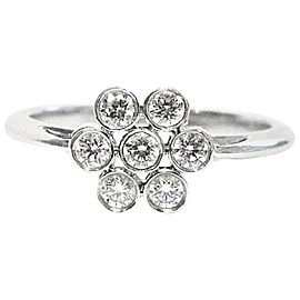 Tiffany & Co. 950 Platinum Diamond Ring Size 5.25