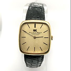 IWC SCHAFFHAUSEN by Tiffany & Co. 18K Yellow Gold Watch