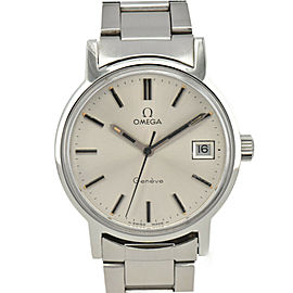 OMEGA Geneve Silver Dial Cal.613 Hand Winding Men's Watch