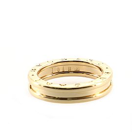Bvlgari B.Zero1 One Band Ring 18K Yellow Gold