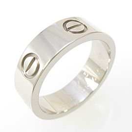 Cartier 18K White Gold Love ring TkM-116