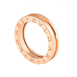 Bulgari B.zero1 18K Rose Gold Band Ring Size 6.5