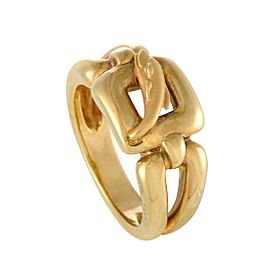 Carrera y Carrera 18K Yellow Gold Dolphin Ring Size 6.25