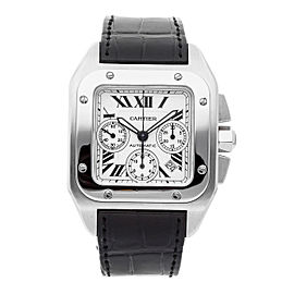 Cartier Santos 100 W20090X8 41mm Mens Watch