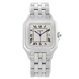 Cartier Panthere W25032P5 Stainless Steel 29mm Quartz Unisex Watch