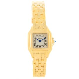 Cartier Panthere W25022B9 18K Yellow Gold 22mm Quartz Women Watch